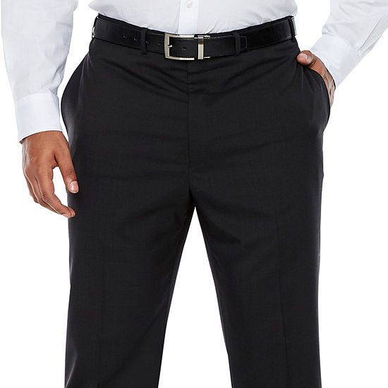 Claiborne Striped Slim Fit Suit Pants - Big and Tall