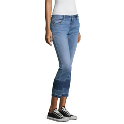 Arizona Skinny Crops Capris - Juniors