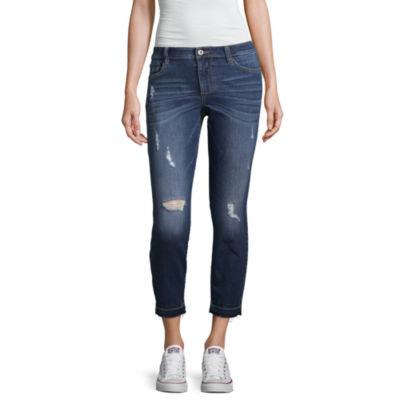 Arizona Slim Leg Capris-Juniors