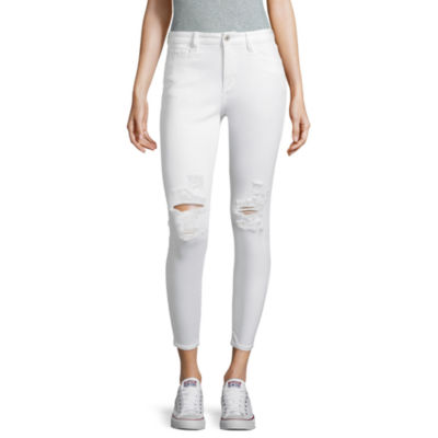 Arizona Destructed Skinny Ankle Jean-Juniors