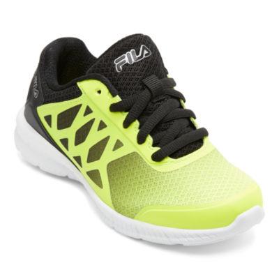 Fila Faction 3 Boys Running Shoes - Little Kids