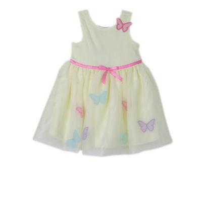 Lilt Sleeveless Ribbon Butterfly Dress - Baby Girls