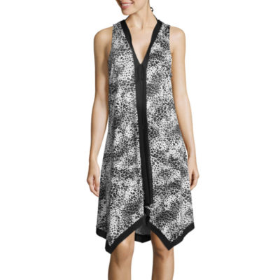Lm Beach Jersey Swimsuit Cover-Up Dress