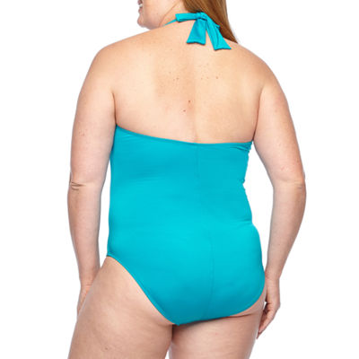 Liz Claiborne One Piece Swimsuit Plus