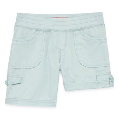 Union Bay Twill Cargo Shorts - Big Kid Girls