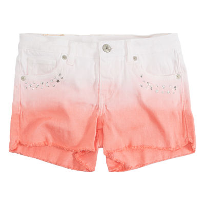 Levi's Twill At Waist Shortie Shorts - Big Kid Girls