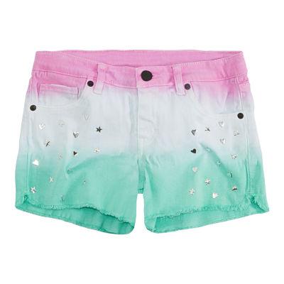 Levi's Spearmint Tye Dye  Shorts - Big Kid Girls