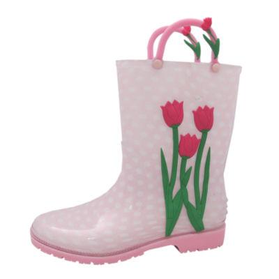 I Heart Yokids Girls Water Resistant Rain Boots - Little Kids/Big Kids
