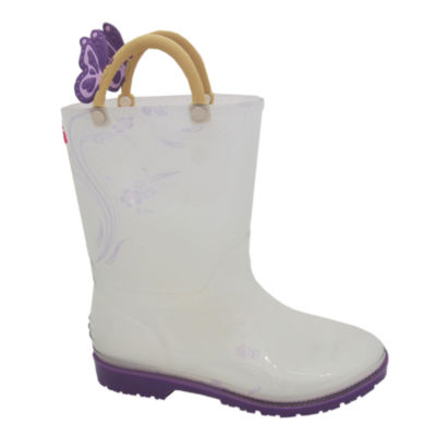 I Heart Yokids Girls Water Resistant Rain Boots - Big Kids