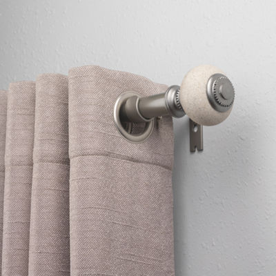 Bali Faux Stone 1 IN Curtain Rod