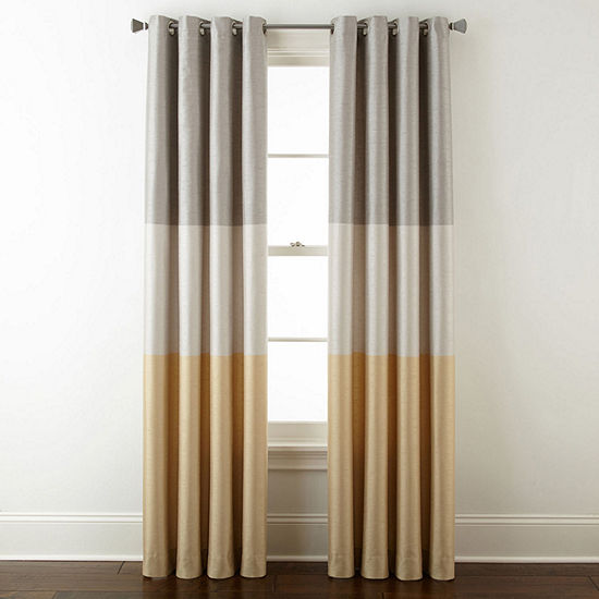 Liz Claiborne Trio Grommet-Top Curtain Panel