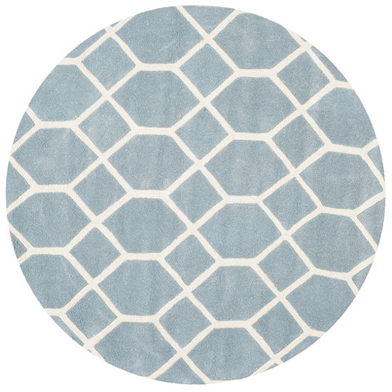 Safavieh Carson Geometric Hand Tufted Wool Rug