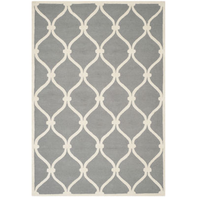 Safavieh Bois Geometric Hand-Tufted Wool Rug