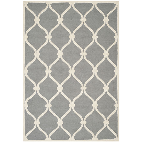 Safavieh Bois Geometric Hand Tufted Wool Rug