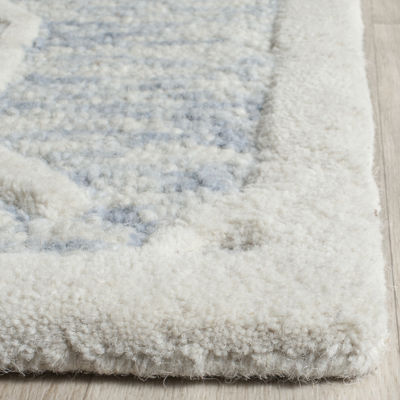 Safavieh Aodhagan Geometric Hand-Tufted Wool Rug
