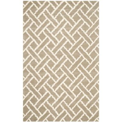 Safavieh Sammy Geometric Hand Tufted Wool Rug