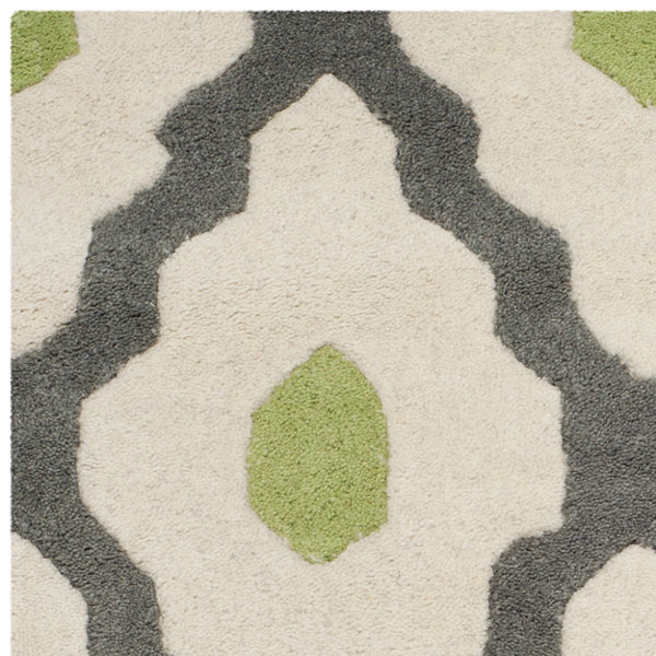 Safavieh Baldwin Geometric Hand-Tufted Wool Rug