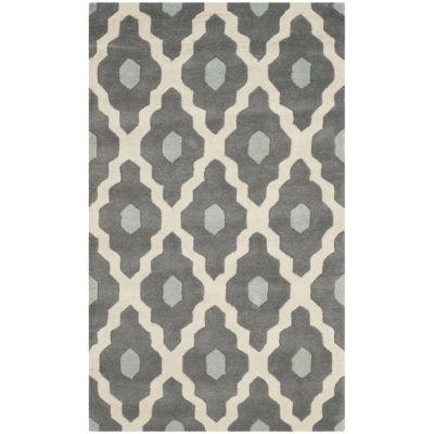 Safavieh Baldwin Geometric Hand-Tufted Wool Rug