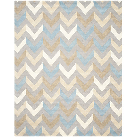 Safavieh Adella Chevron Hand Tufted Wool Rug
