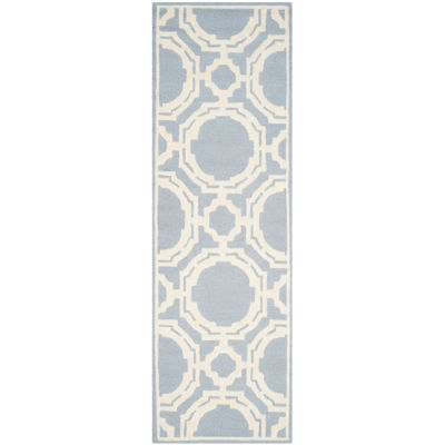 Safavieh Alex Geometric Hand-Tufted Wool Rectangular Rug