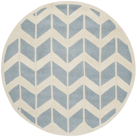Safavieh Myles Chevron Hand Tufted Wool Rug