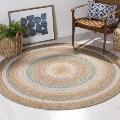 Safavieh Lactrice Bordered Braided Rug