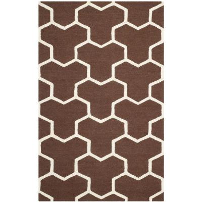 Safavieh Mckayla Geometric Hand Tufted Wool Rug