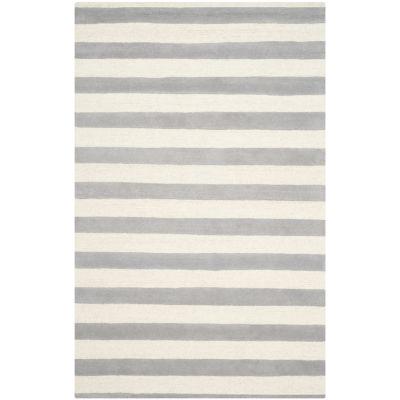 Safavieh Linette Stripe Hand Tufted Wool Rug