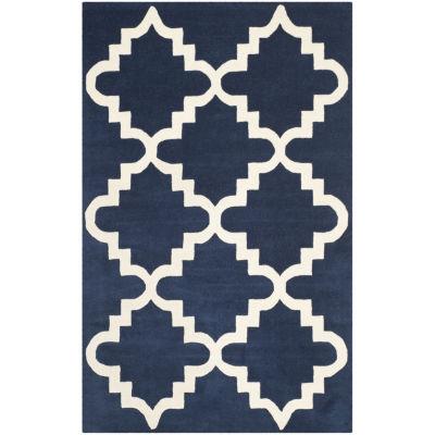 Safavieh Louella Geometric Hand Tufted Wool Rug