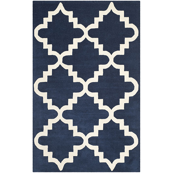 Safavieh Letha Geometric Hand Tufted Wool Rug