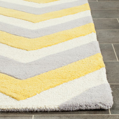 Safavieh Marcelyn Chevron Hand Tufted Wool Rug