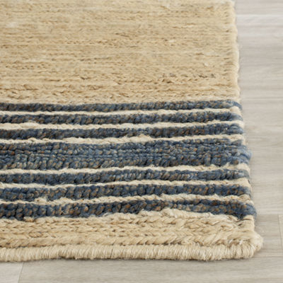 Safavieh Dev Striped Rectangular Area Rug