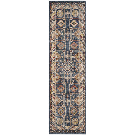 Safavieh Ethelred Traditional Rug. One Size . Blue