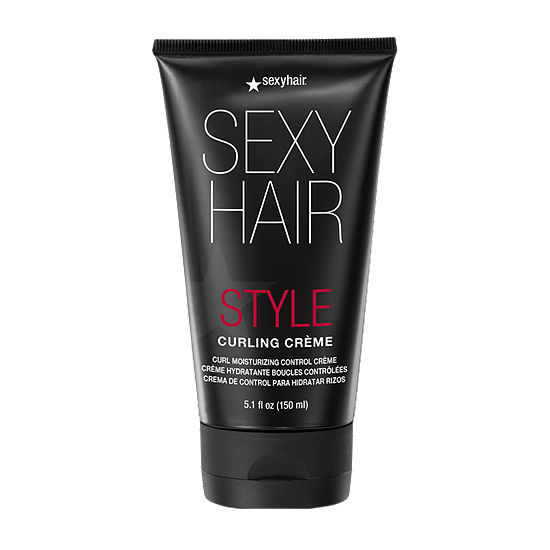 Sexy Hair Curly Creme Styling Product - 5.1 oz.
