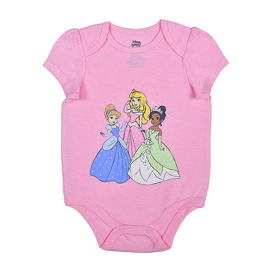 Okie Dokie Baby Girls Disney Princess Bodysuit