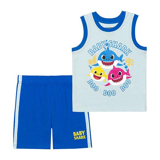 Nickelodeon Toddler Boys 2-pc. Baby Shark Short Set