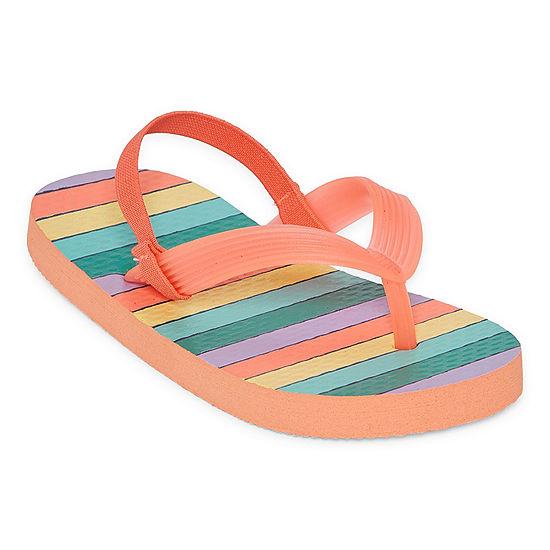 Okie Dokie Toddler Girls Flip-Flops