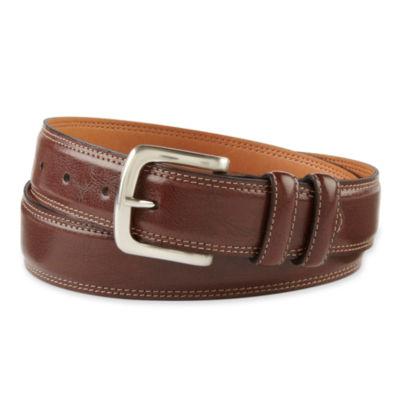 IZOD® Brown Leather Belt
