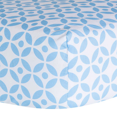 Trend Lab® Logan Lattice Fitted Crib Sheet