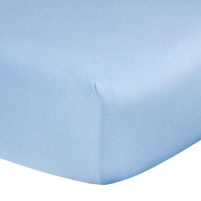 Trend Lab® Blue Fitted Crib Sheet