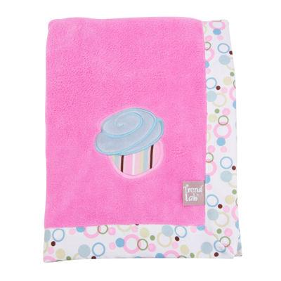 Trend Lab® Cupcake Receiving Blanket