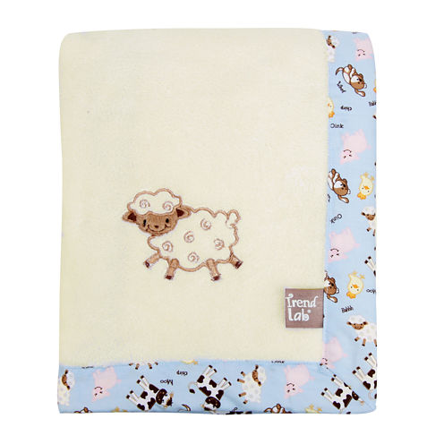 Trend Lab® Baby Barnyard Receiving Blanket