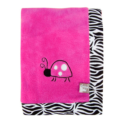 Trend Lab® Zahara Zebra Receiving Blanket