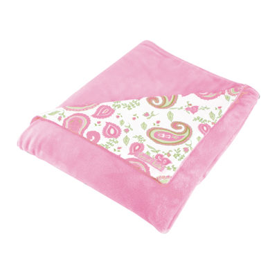 Trend Lab® Pink Paisley Park Receiving Blanket