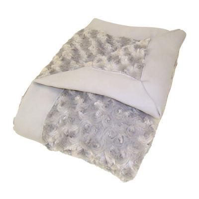Trend Lab® Gray Rosette Blanket