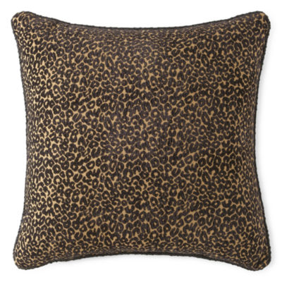 JCPenney Home™ Chenille Leopard Decorative Pillow