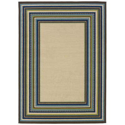 Covington Home South Hampton Indoor/Outdoor Rectangular Rug