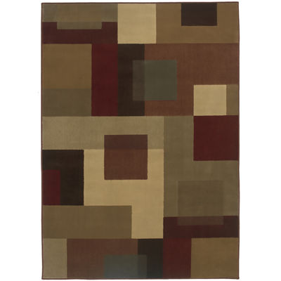 Covington Home Bloc Rectangular Rug