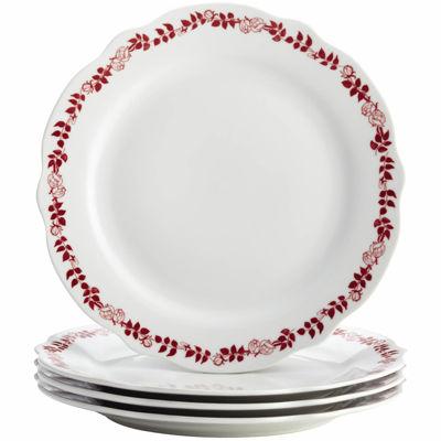 BonJour® Yuletide Set of 4 Dinner Plates