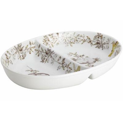 BonJour® Fruitful Nectar Porcelain Divided Dish